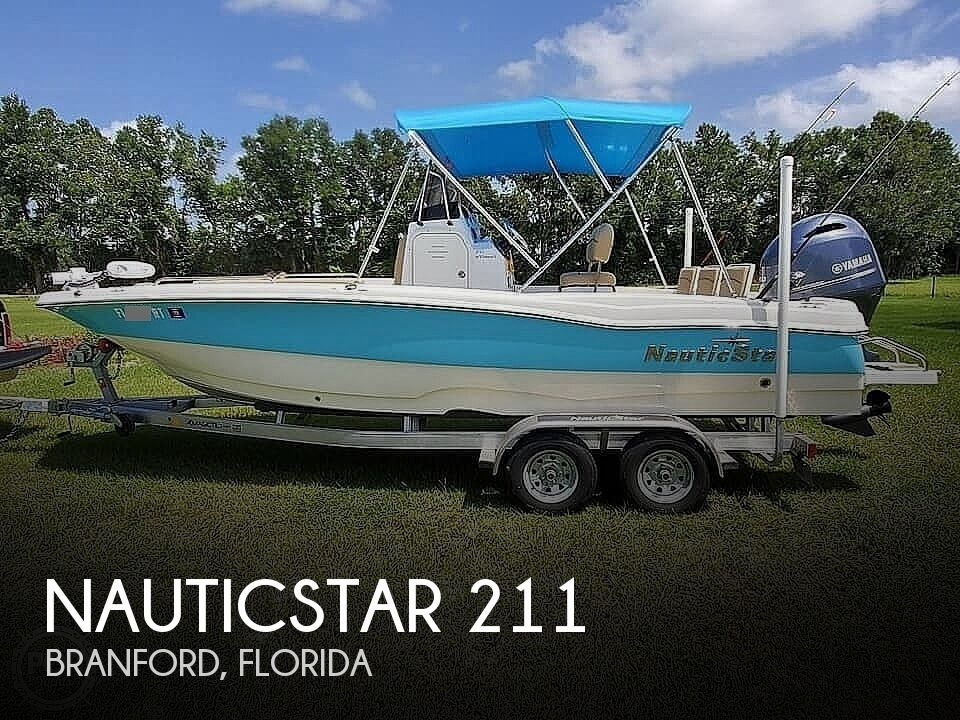 2019 Nautic Star boat for sale, model of the boat is 211 Hybrid & Image # 1 of 40