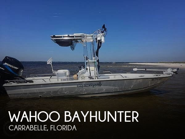 Used Wahoo Boats For Sale by owner | 1998 20 foot Wahoo Bayhunter