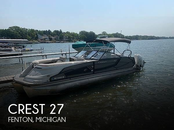 Used Pontoon Boats For Sale by owner | 2018 Crest 27