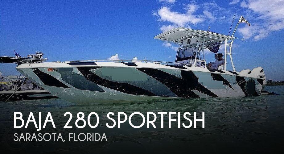 2001 BAJA 280 SPORTFISH for sale