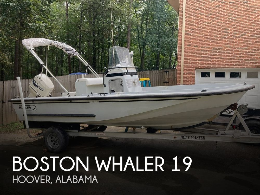 Used Boston Whaler 19 Boats For Sale by owner | 1996 Boston Whaler Guardian 19