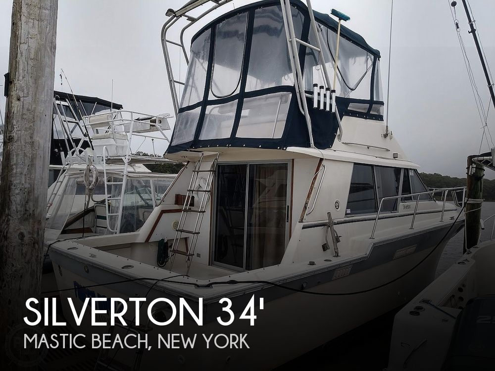 Used Silverton Boats For Sale in New York by owner   1986 Silverton 34' Silverton convertible
