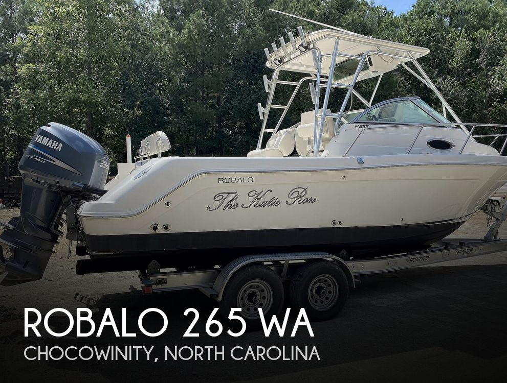 2005 Robalo boat for sale, model of the boat is 265 WA & Image # 1 of 41