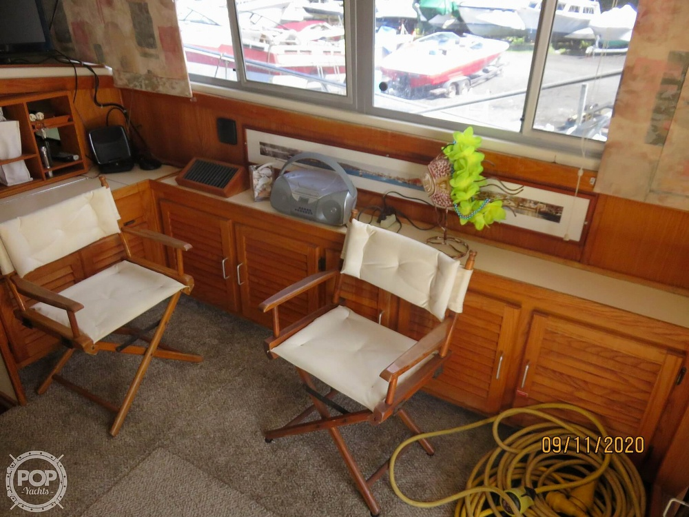1986 Silverton boat for sale, model of the boat is 37 Convertible & Image # 5 of 40