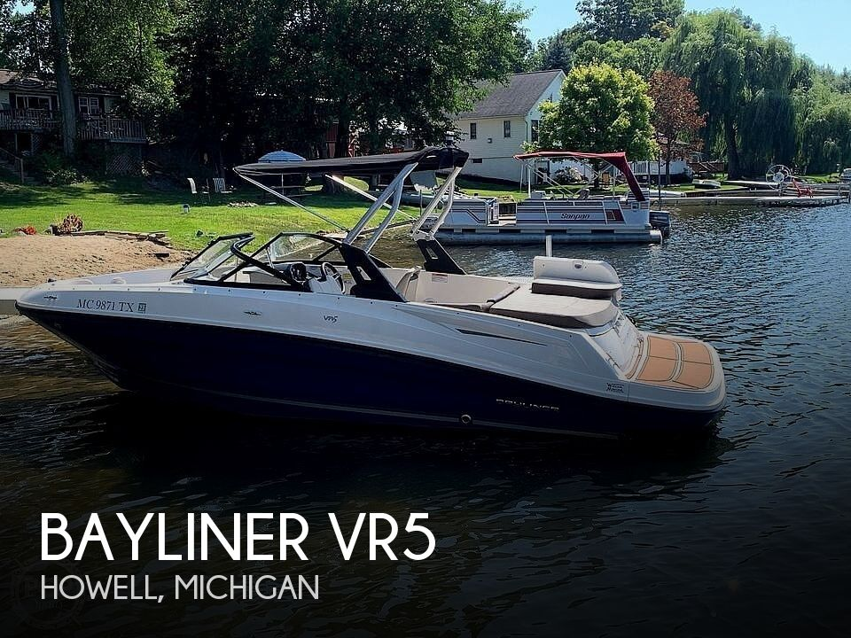 Used Bayliner Boats For Sale in Michigan by owner | 2017 Bayliner VR5