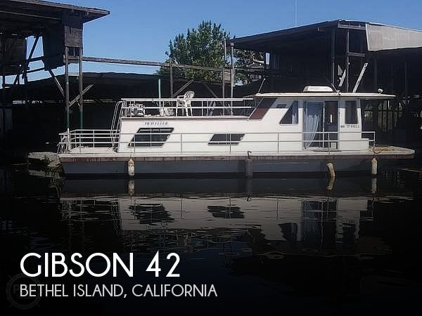 Used GIBSON Houseboats For Sale in California by owner | 1981 Gibson 42