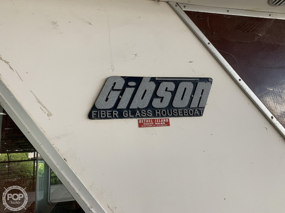 1981 Gibson boat for sale, model of the boat is 12 x 42 & Image # 27 of 40