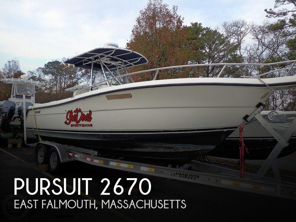 2005 PURSUIT 2670 for sale