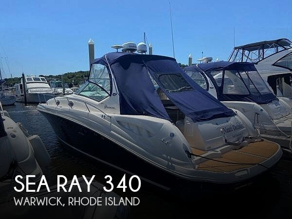 2004 Sea Ray boat for sale, model of the boat is Sundancer 340 & Image # 1 of 40