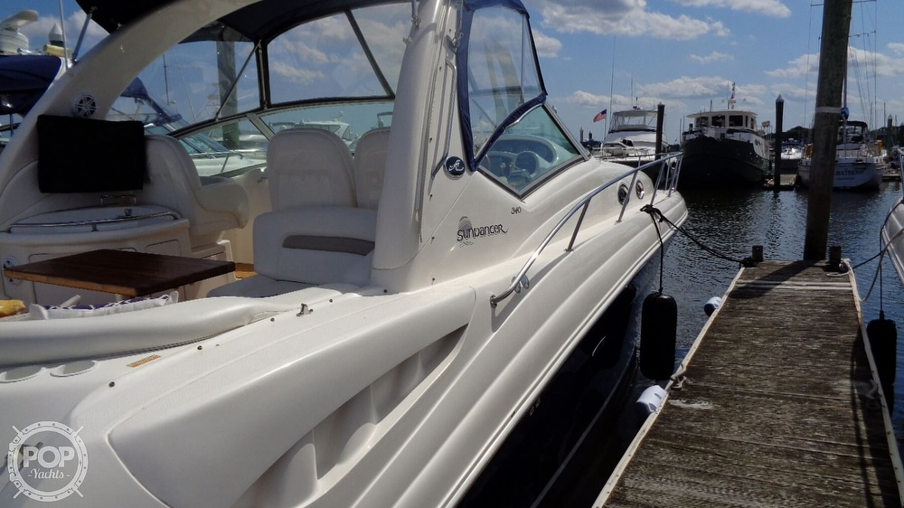2004 Sea Ray boat for sale, model of the boat is Sundancer 340 & Image # 33 of 40
