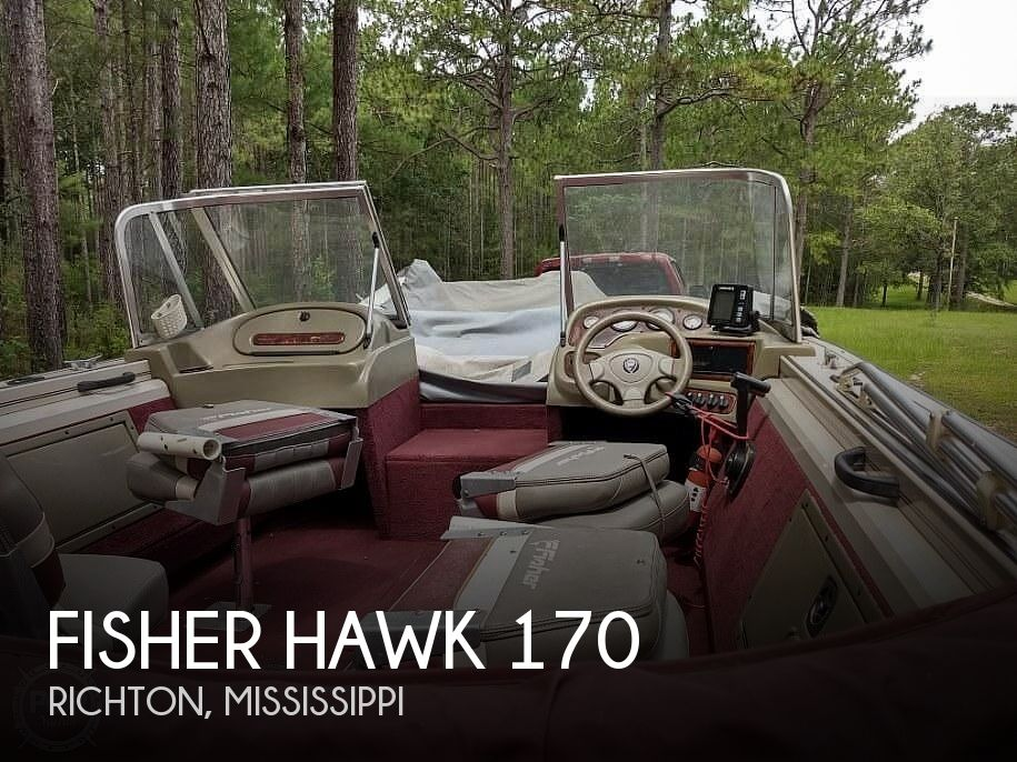 2000 FISHER HAWK 170 for sale