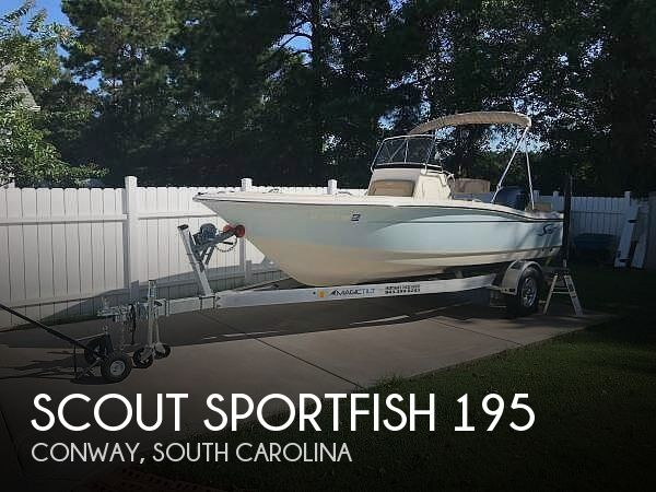 Used Scout Boats For Sale by owner | 2021 Scout Sportfish 195
