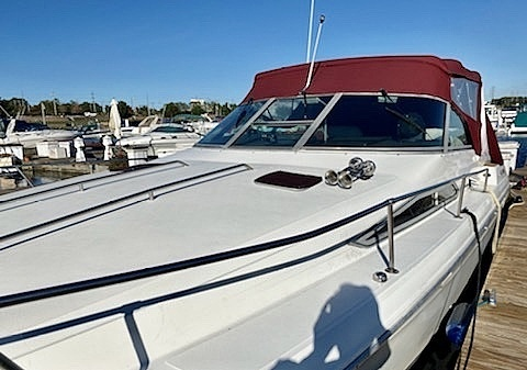 1992 Sea Ray boat for sale, model of the boat is 330 EC & Image # 30 of 41