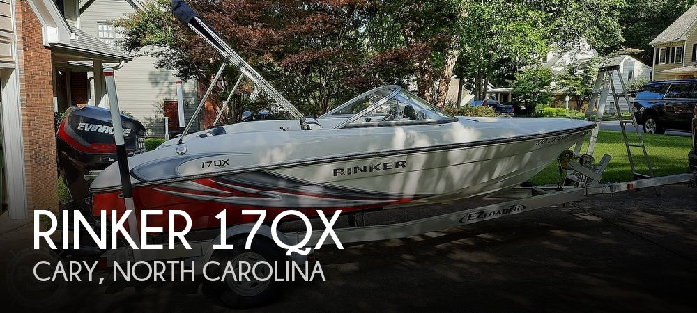 2017 RINKER 17QX for sale