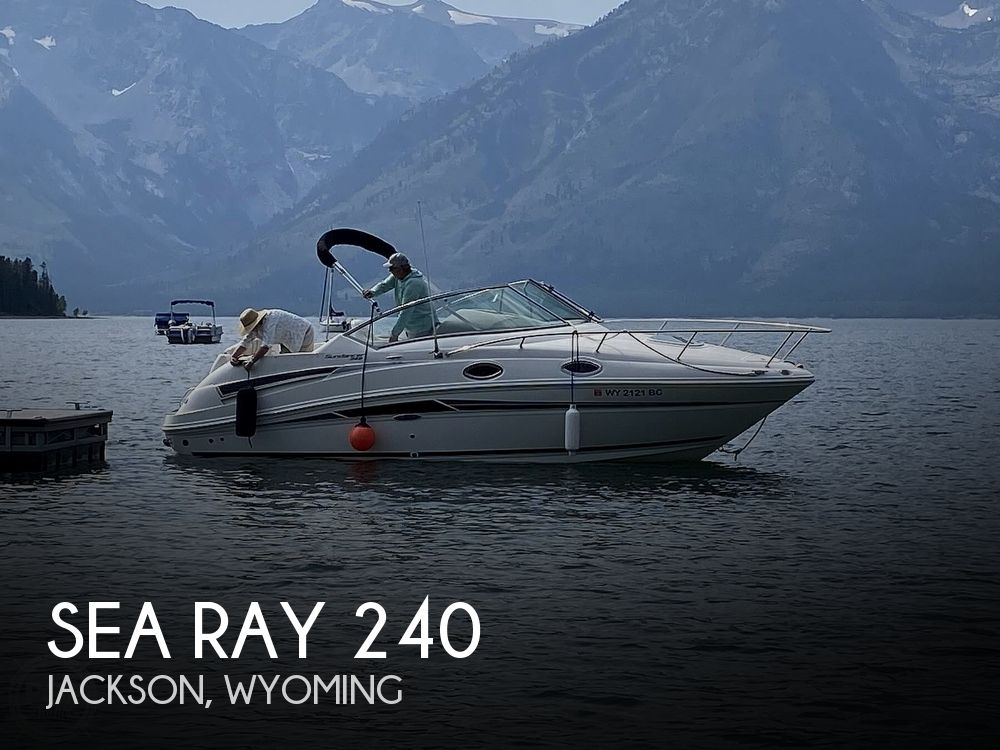 Used Boats For Sale in Wyoming by owner | 2010 Sea Ray 240 Sundancer