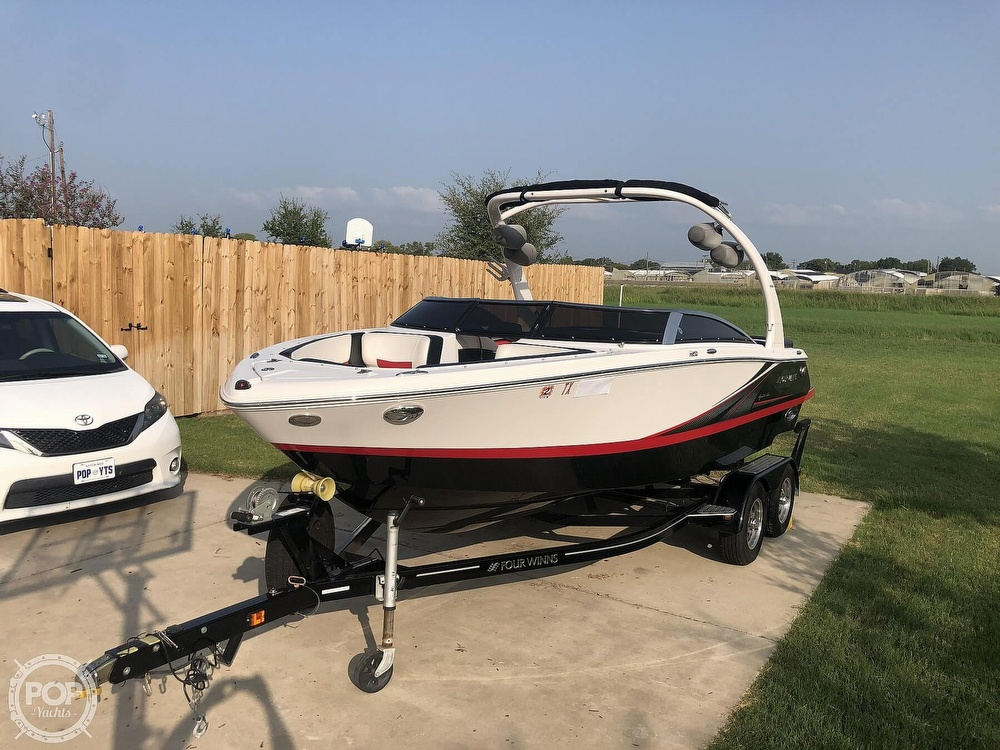 2016 Four Winns boat for sale, model of the boat is H210 Signature Series & Image # 19 of 40