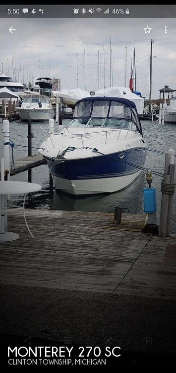 2005 Monterey boat for sale, model of the boat is 270 & Image # 1 of 2