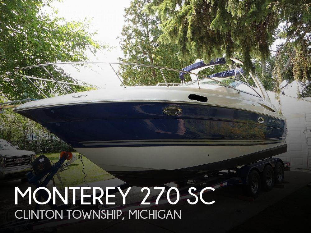 2005 MONTEREY 270 SC for sale