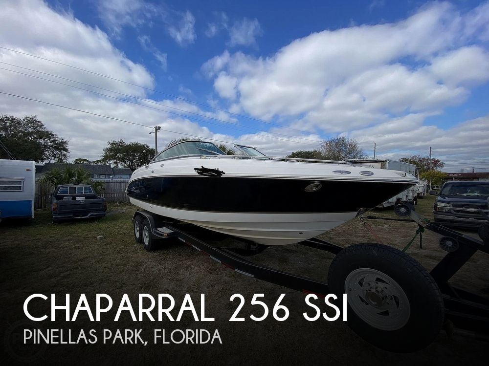 2005 Chaparral boat for sale, model of the boat is 256 SSi & Image # 1 of 40