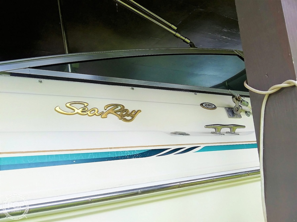 1999 Sea Ray boat for sale, model of the boat is 280 BR & Image # 11 of 40