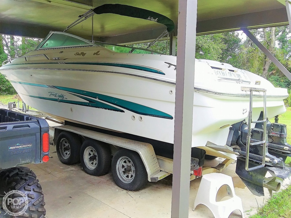1999 Sea Ray boat for sale, model of the boat is 280 BR & Image # 21 of 40