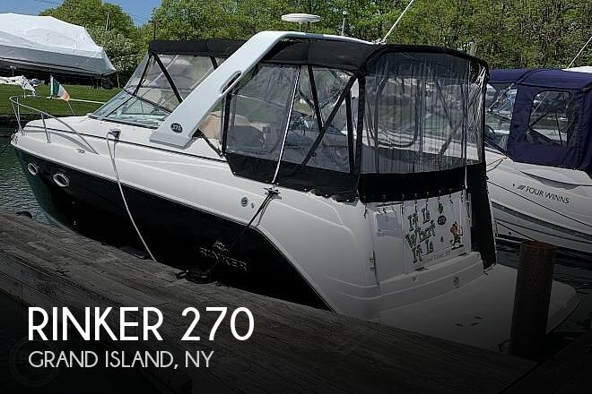 Used Rinker 27 Boats For Sale by owner | 2007 Rinker 270 Fiesta Vee
