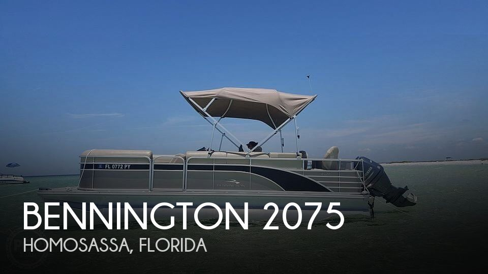 2015 Bennington boat for sale, model of the boat is 2075 GS Saltwater Series & Image # 1 of 40