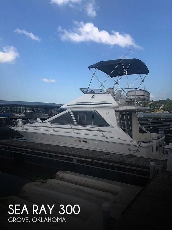 Used Sea Ray Boats For Sale in Oklahoma by owner | 1989 Sea Ray 300 Sedan
