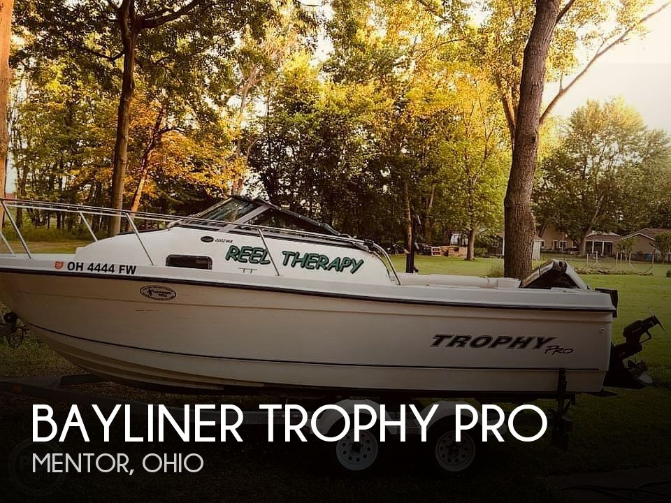 Used Bayliner Boats For Sale in Ohio by owner | 2005 21 foot Bayliner Trophy Pro