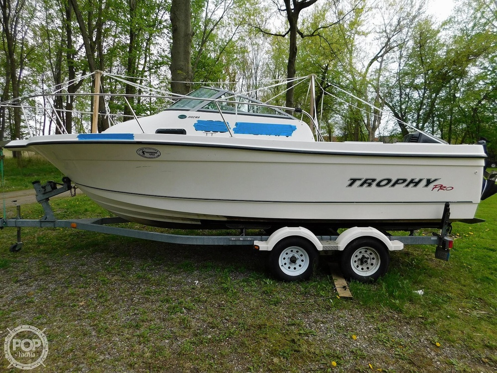 2005 Bayliner boat for sale, model of the boat is Trophy 2002 WA & Image # 17 of 40
