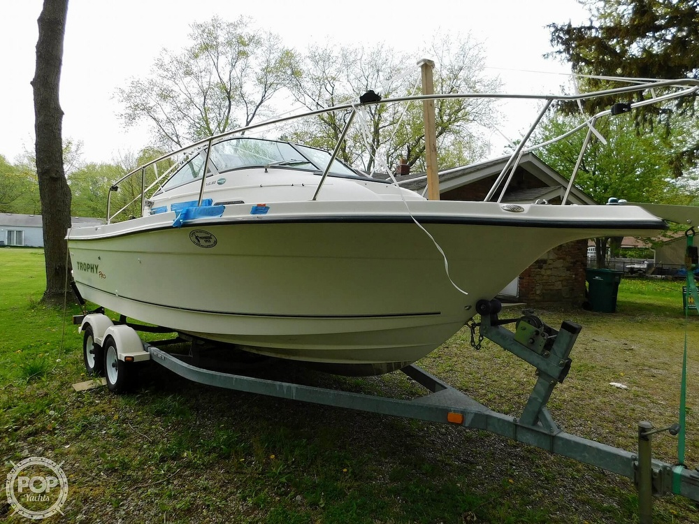 2005 Bayliner boat for sale, model of the boat is Trophy 2002 WA & Image # 3 of 40