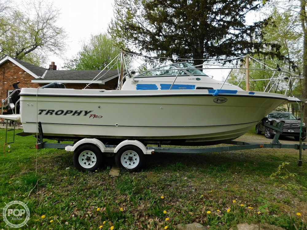2005 Bayliner boat for sale, model of the boat is Trophy 2002 WA & Image # 27 of 40