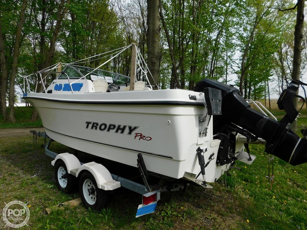 2005 Bayliner boat for sale, model of the boat is Trophy 2002 WA & Image # 30 of 40