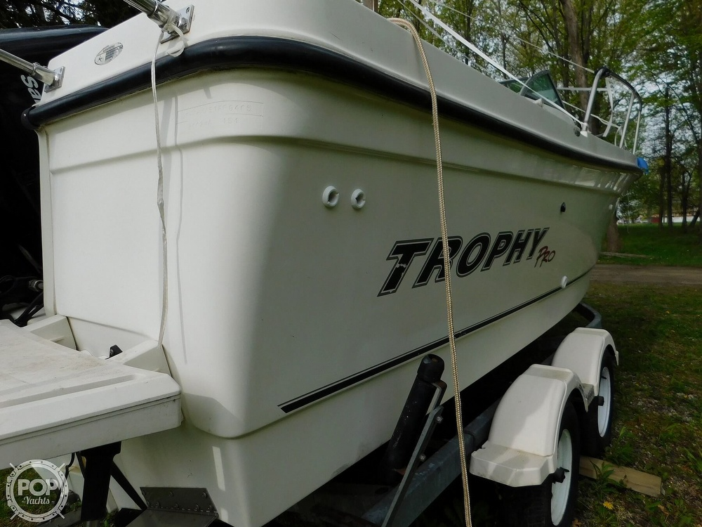 2005 Bayliner boat for sale, model of the boat is Trophy 2002 WA & Image # 32 of 40