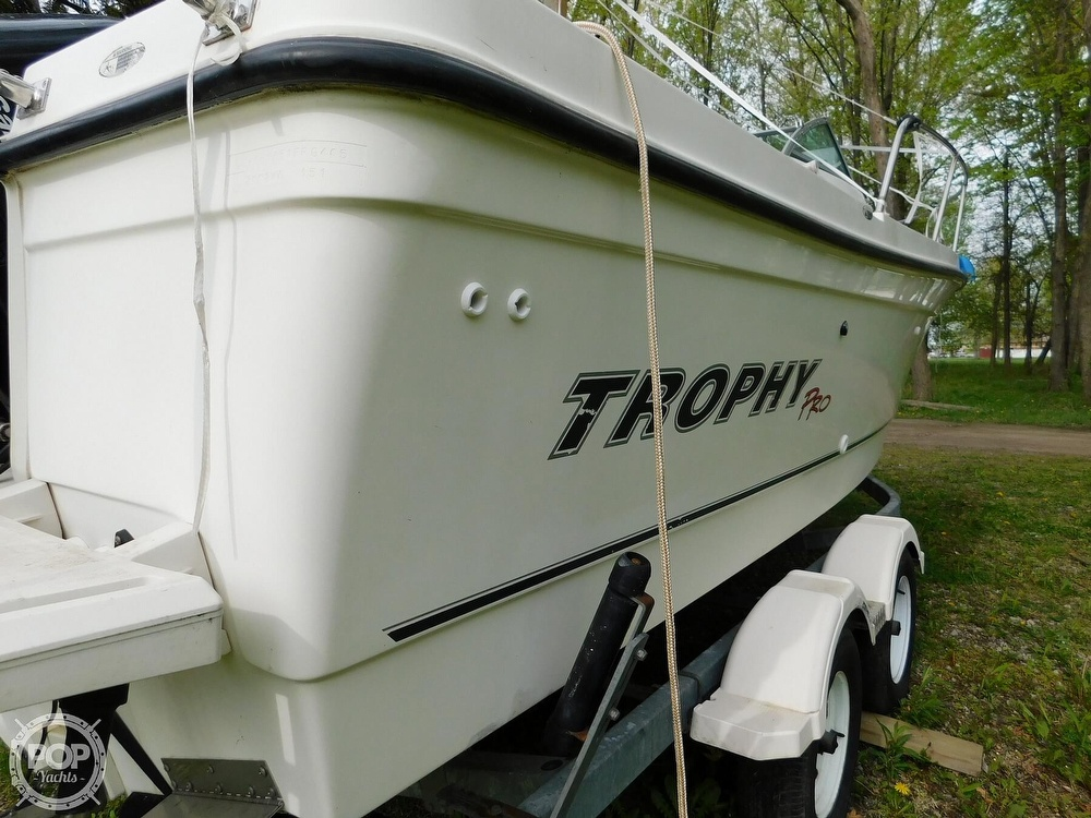 2005 Bayliner boat for sale, model of the boat is Trophy 2002 WA & Image # 34 of 40