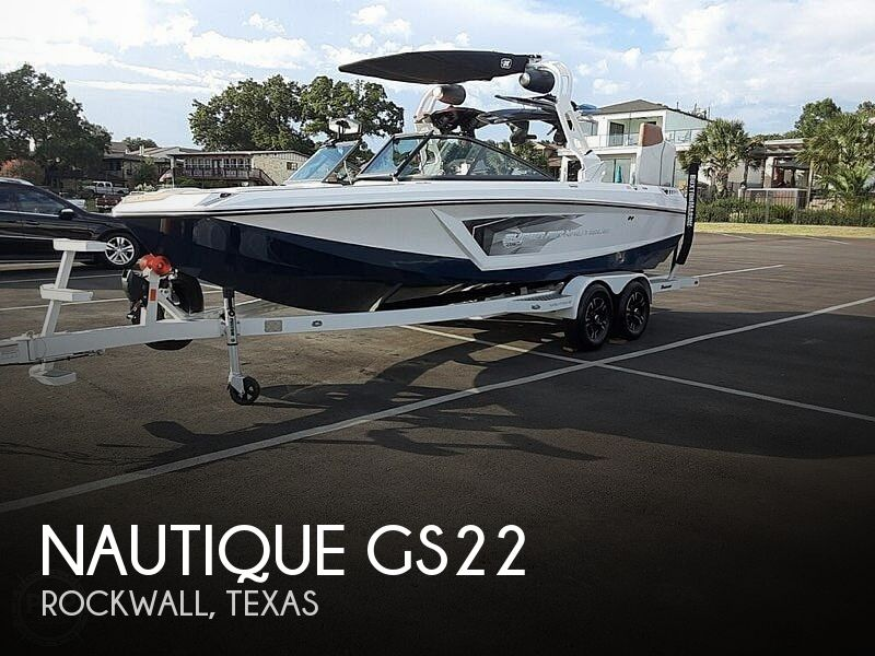 Used Boats For Sale in Dallas, Texas by owner | 2019 Nautique GS22