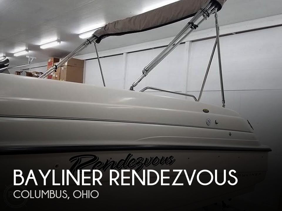 1999 Bayliner boat for sale, model of the boat is Rendezvous & Image # 1 of 13