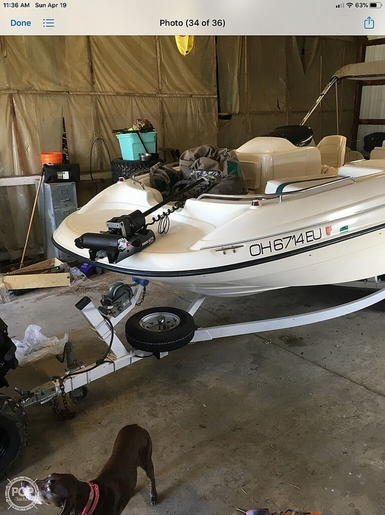 1999 Bayliner boat for sale, model of the boat is Rendezvous & Image # 10 of 13