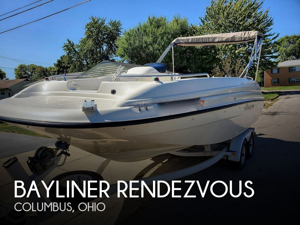1999 BAYLINER RENDEZVOUS for sale