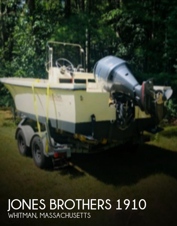 2002 Jones Brothers boat for sale, model of the boat is Cape fish 1910 & Image # 1 of 8