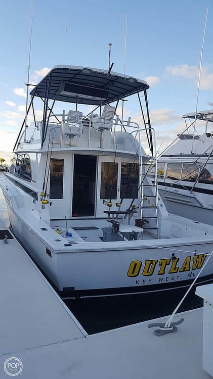 1982 Bertram boat for sale, model of the boat is 42 & Image # 2 of 6