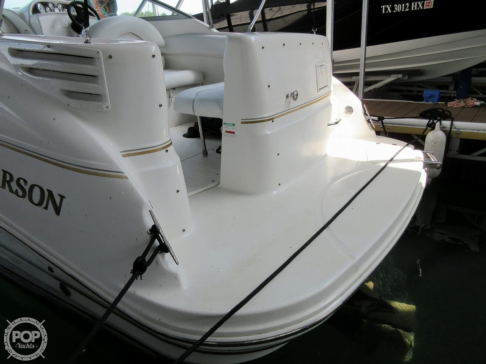 2002 Larson boat for sale, model of the boat is Cabrio 274 & Image # 35 of 40