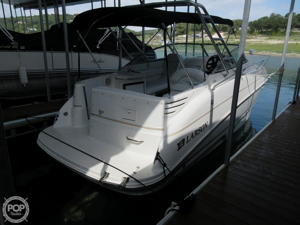 2002 Larson boat for sale, model of the boat is Cabrio 274 & Image # 38 of 40