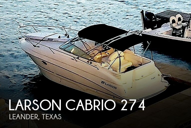 2002 Larson boat for sale, model of the boat is Cabrio 274 & Image # 1 of 40