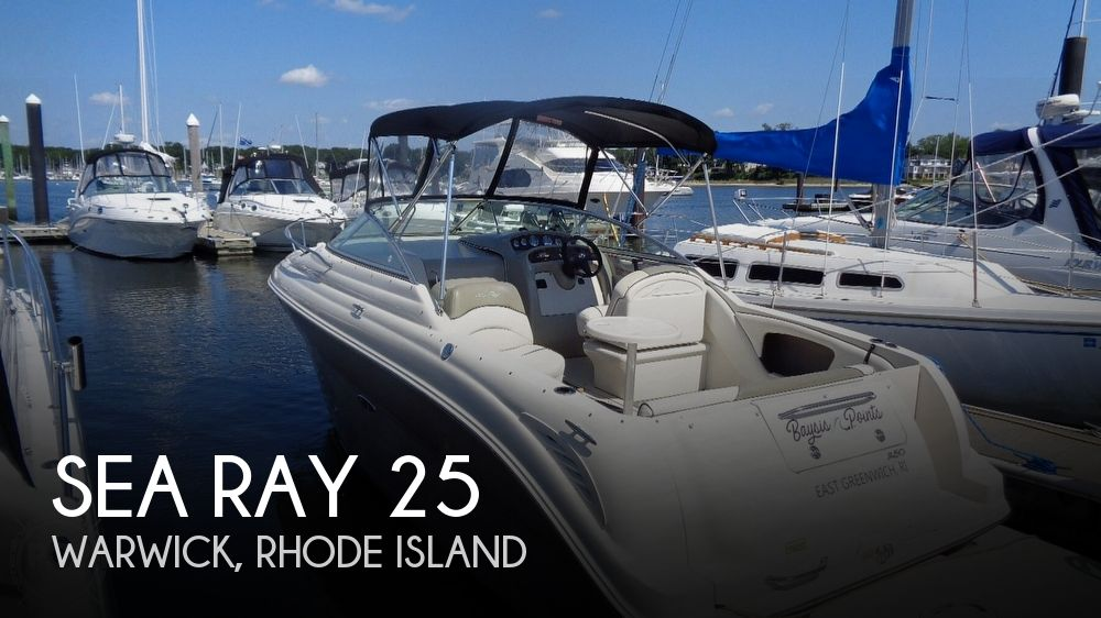 2006 Sea Ray boat for sale, model of the boat is 25 Amberjack & Image # 1 of 40