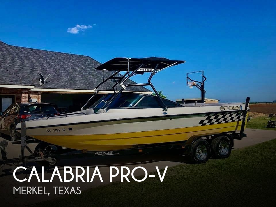 Used Calabria Boats For Sale by owner | 2001 24 foot Calabria PRO-V