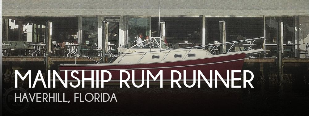 Used Mainship Boats For Sale by owner | 2001 30 foot Mainship Rum Runner