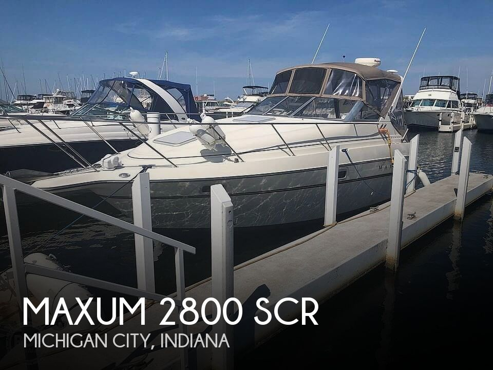 1998 Maxum boat for sale, model of the boat is 2800 SCR & Image # 1 of 11