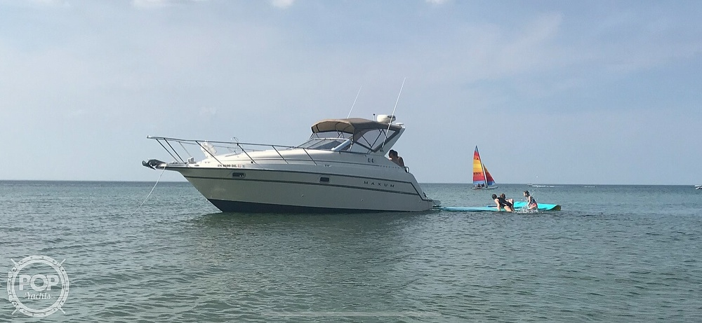 1998 Maxum boat for sale, model of the boat is 2800 SCR & Image # 11 of 12