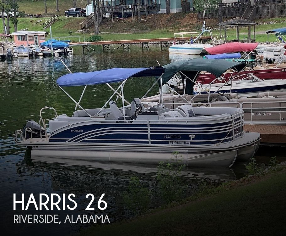 Used Pontoon Boats For Sale by owner | 2021 Harris 26